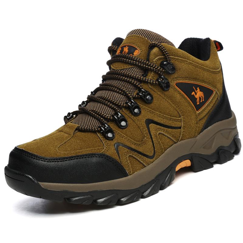 冬季男士运动爸爸鞋东北雪地靴男加绒保暖老人棉靴加厚防滑户外鞋
