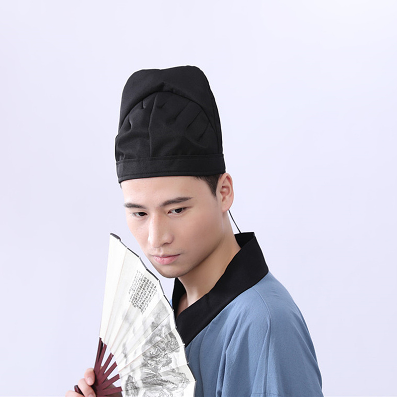 Hat of Han Dynasty Futou Tang towel of Tang Dynasty hat of first costume of Han Dynasty hat of Ming Dynasty headdress of ancient accessories of Li Bai hat