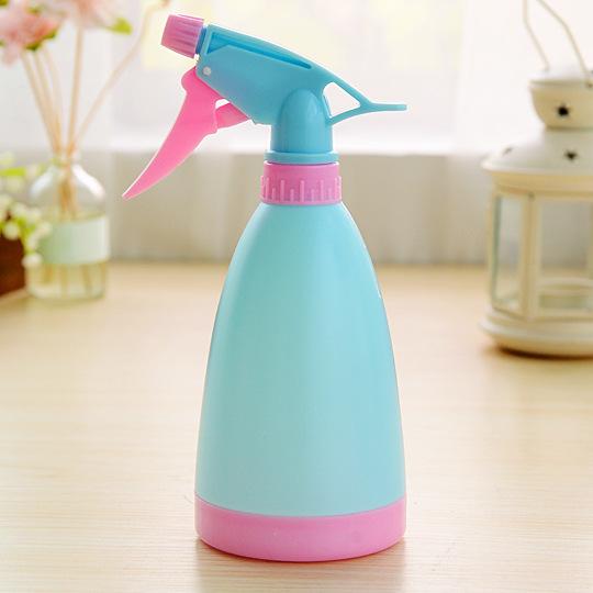 园艺用品工具糖果色喷壶洒水壶喷水壶手压式浇花喷水瓶400ml  70G