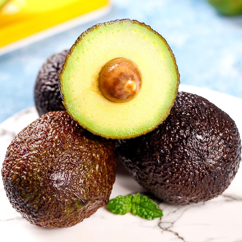 墨西哥进口牛油果8个整箱大果新鲜鳄梨当季水果孕妇宝宝辅食包邮
