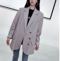 西西TRACY【设计款西服】时尚设计百褶西装外套2.26