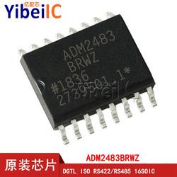 亿配芯 ADM2483BRWZ SOIC-16 贴片REEL BRW 数字隔离器 IC芯片