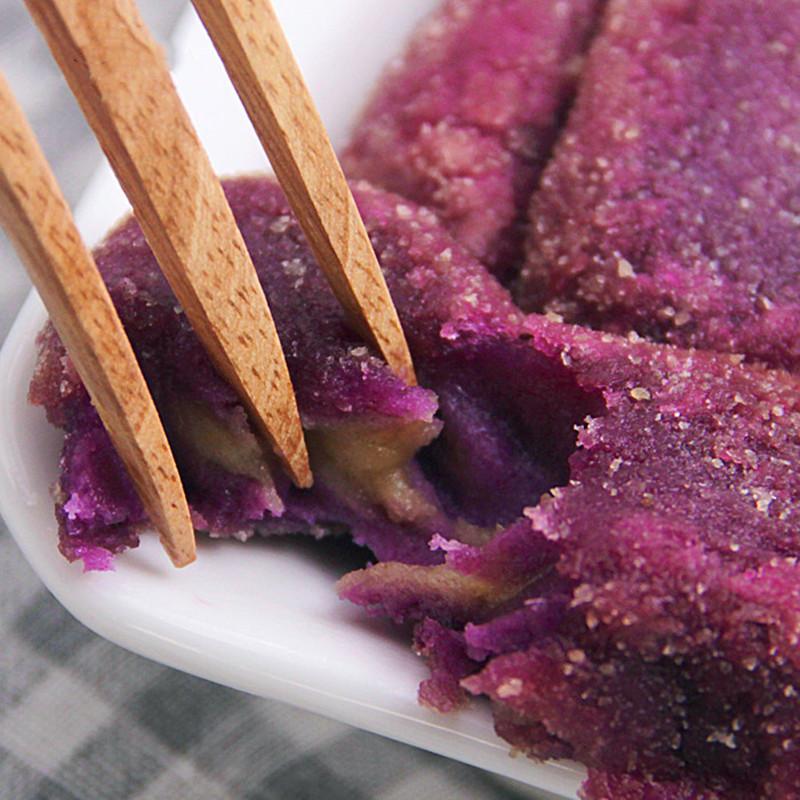 紫薯豌豆派 36个 半成品油炸小吃面食点心280g*3包儿童早餐