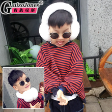 Aristocratic Jones, children's Fur Ear mask can be used as a collar, Rex Rabbit, fur, fur, ears, ears, and boys and girls.