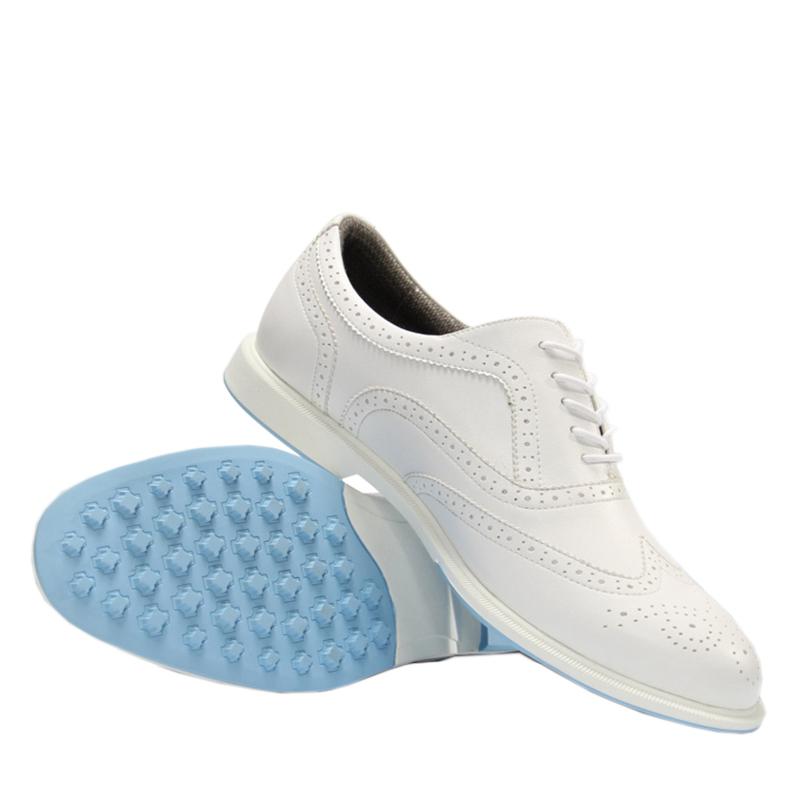 新款高尔夫球鞋男女情侣同款高尔夫软底超轻固定钉防水透气球鞋