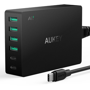 AUKEY PA-Y6 电源插座 TYPE-C and USB-A 支持QC3.0