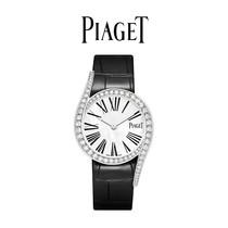 伯爵官方正品GALA系列女士手动上链机芯白金钻石腕表Piaget