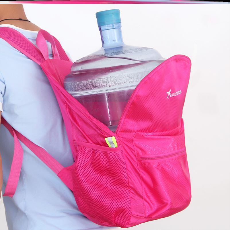 女童背包旅游小学生旅行男式男款旅游包洋气女款可折叠双肩包男女