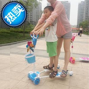 儿童玩具滑板z车四轮防侧翻双排滑板儿童滑板车剪刀车 活力滑板