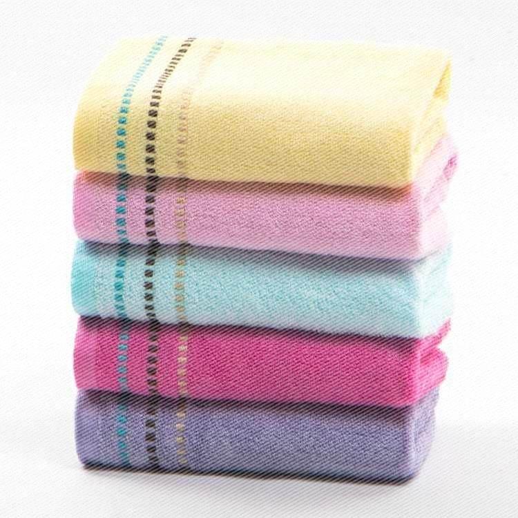 洗脸装 欧林雅竹浆竹纤维五条巾亲肤洁面巾运动毛巾柔软吸水