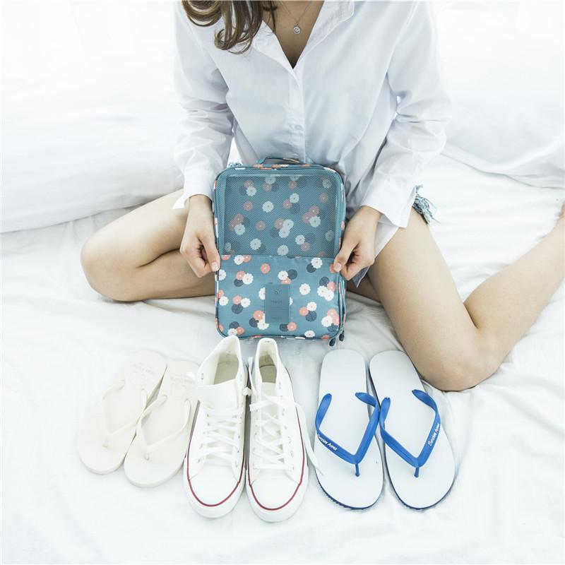 鞋子收纳神器省空间鞋盒收纳盒多功能防尘鞋袋收纳袋旅行收纳鞋包