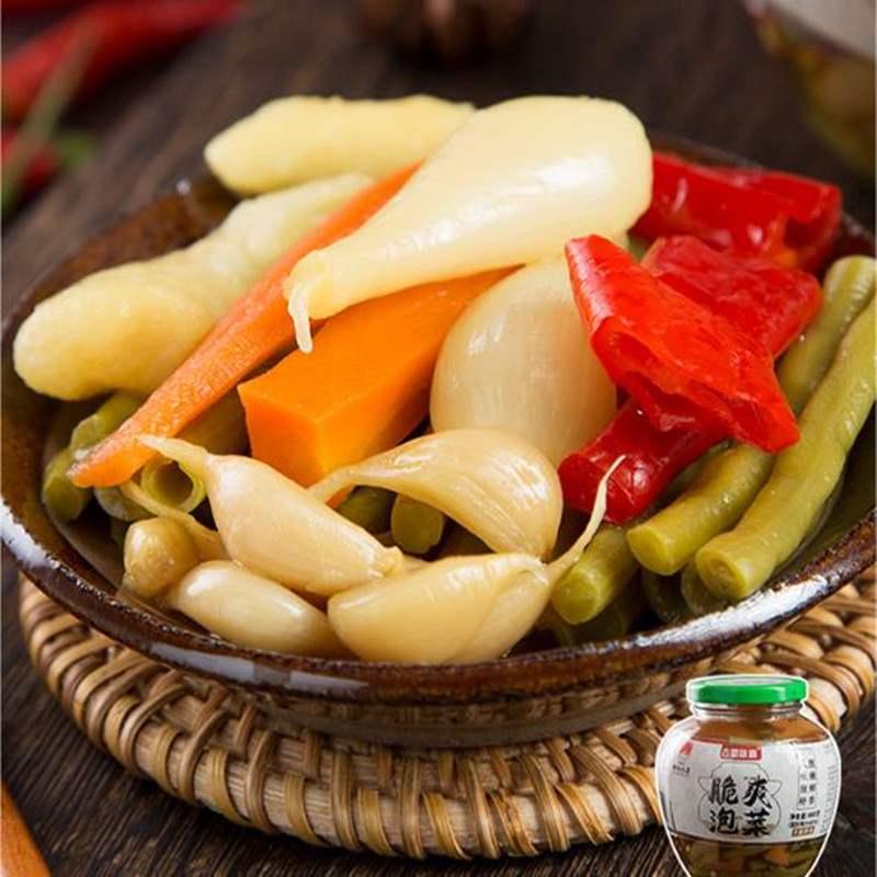 泡萝卜酸甜脆四川省 早餐店喝粥吃粥配的小菜辣泡菜农家味下饭