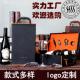 红酒盒双支装红酒皮盒包装盒高档葡萄酒礼盒多款节日创意礼品包装