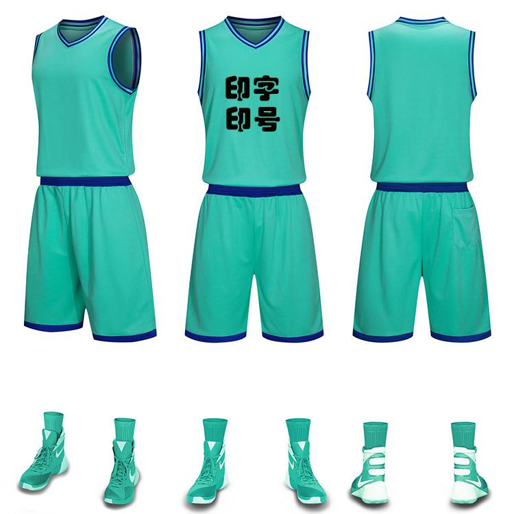 热卖的篮球服套装男成人儿童学生比赛训练球衣定制女团购短袖短裤