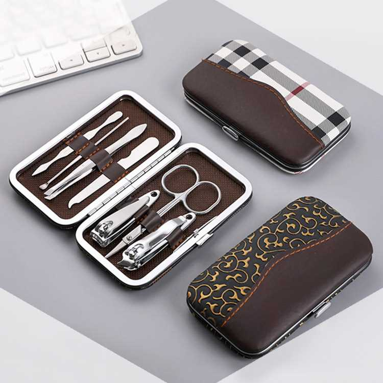Nail clippers 7-piece Set Nail Clippers beauty tools pedicure knife ear scoop nail clippers 7-piece set