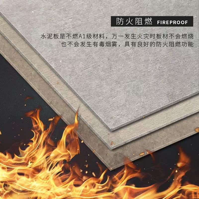 水泥板装饰板防火板饰面板美纤维水泥压力板岩混泥土木丝板清水板