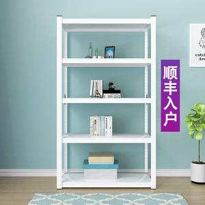白色厨房置物架落地多层客厅收纳架卧室简约储物架杂物整理架书架