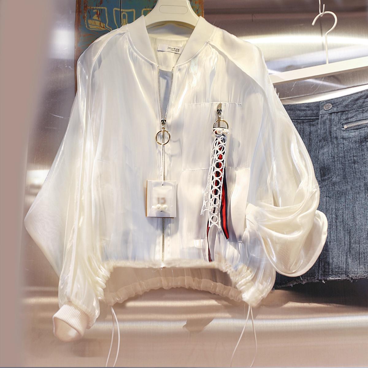 很仙的防晒衫开衫超仙防晒衣女洋气网红冰丝仙女外套超薄防紫外线