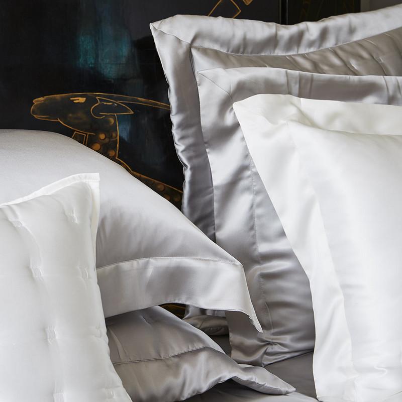 床包枕套被套四件套定做MODU。私人定制高级真丝桑蚕丝Silk床笠