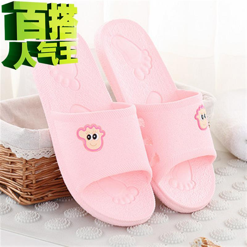 Board of directors thickens home slippers summer floor stand Z couple cool mop indoor lovely bath antiskid sandals female bath