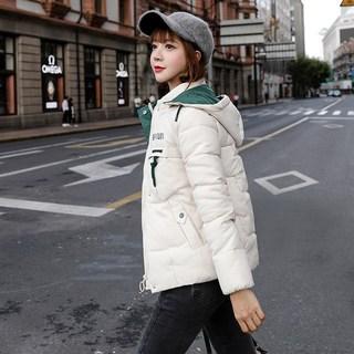 棉衣女中长款2019冬新款韩版修身时尚女装短款羽绒棉服女棉袄外套