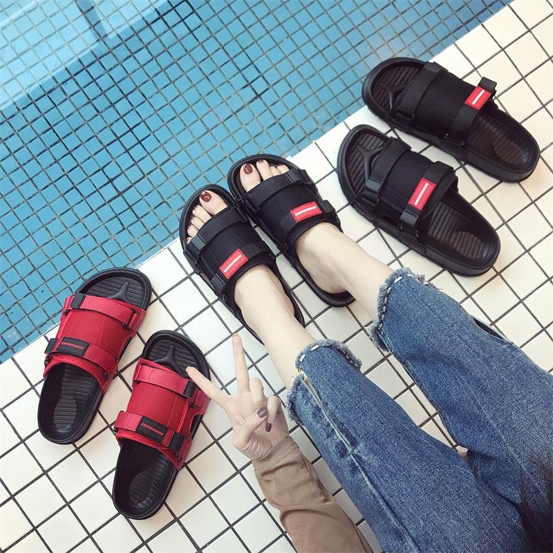热销0件手慢无水沙滩鞋韩版厚底凉鞋拖鞋女夏季时尚外穿网红凉拖鞋海边度假可下