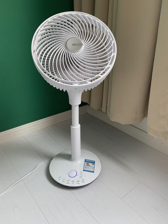 满568.00元可用1元优惠券西点空气循环扇直流变频立式落地扇静音对流涡轮扇家用遥控电风扇