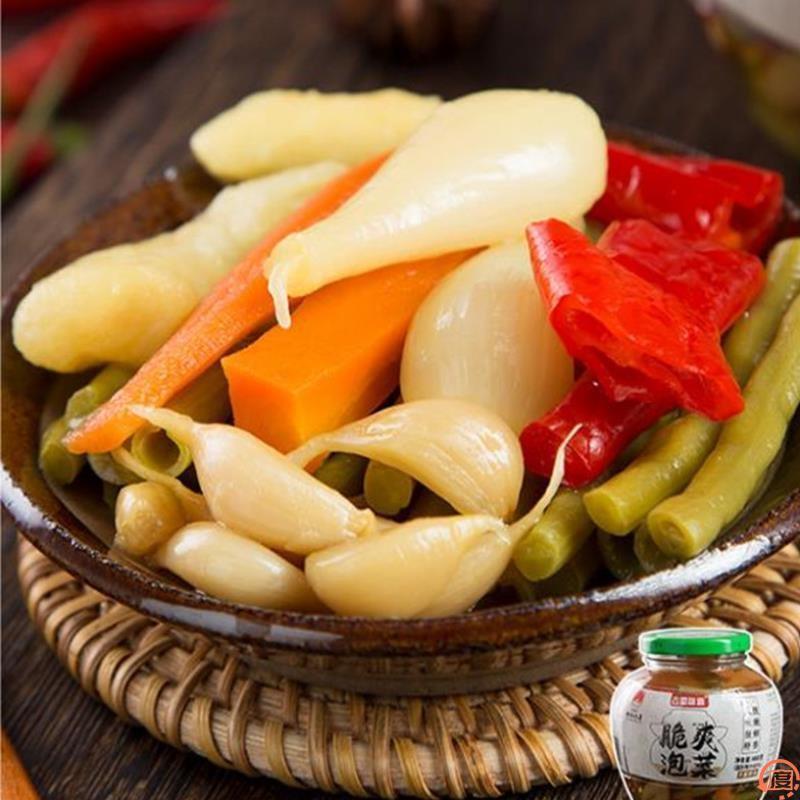 泡萝卜酸甜脆小菜 四川省店喝粥吃粥配的早餐辣泡菜农家味下饭