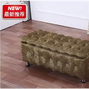 實木床全床邊現代布藝腳踏歐式沙發長凳子家具c臥室床尾凳前凳塌