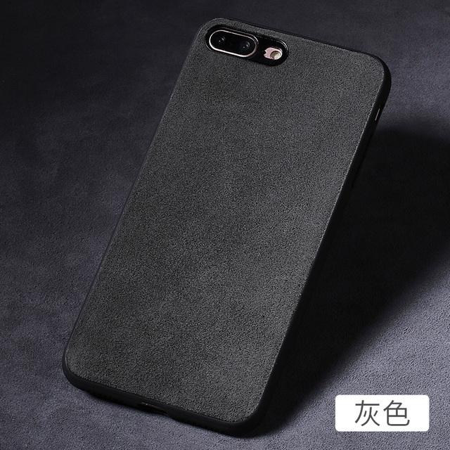 super popular 7d4e2 34426 8 iPhone Case Alcantara Microfiber Covers iPhone 8, iPhone 8 Plus, iPhone  7, iPhone 7 Plus