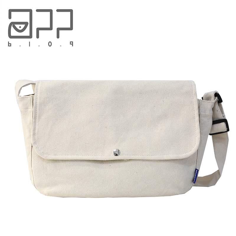 Mens and womens 2020 simple fashion personality versatile Canvas Bag Messenger Bag New Single Shoulder small span bag postman messenger bag