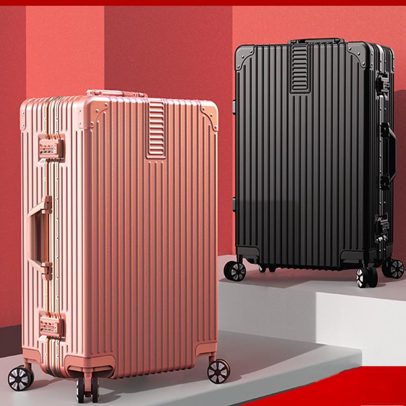结实耐用ABS行李箱男女学生拉杆箱时尚万向轮箱子旅行箱登机箱