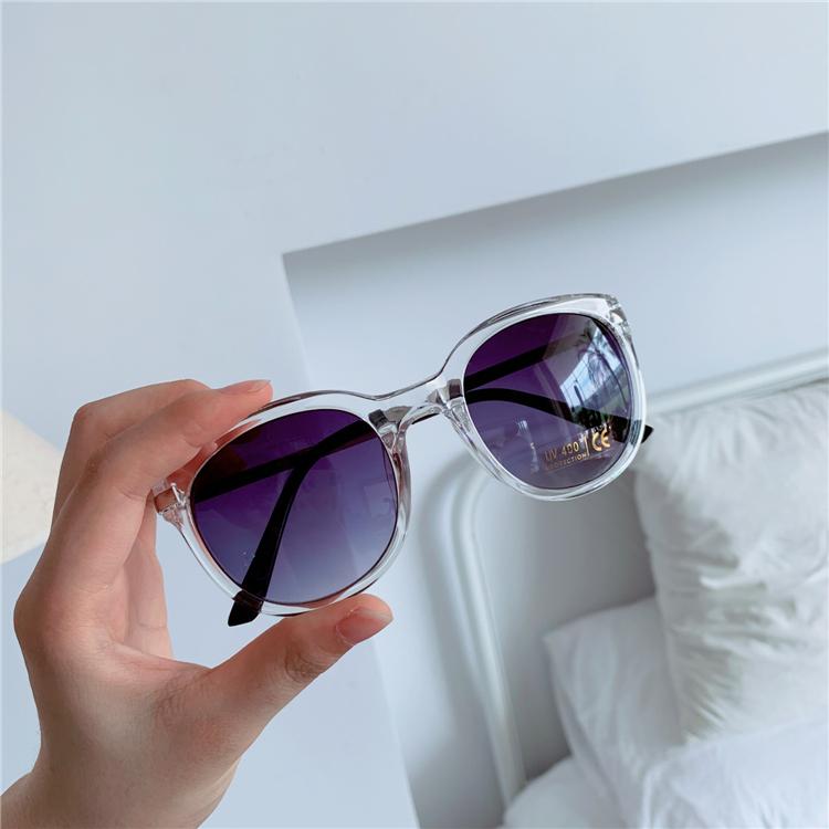 修饰脸型 百搭气质灰色渐变镜片防紫外线太阳镜UV400
