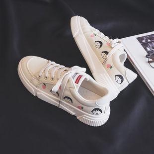 2019夏季新款韩版女学生ins帆布鞋