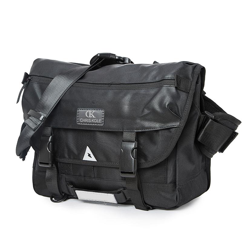 Backpack mens bag single shoulder bag CK2 postman bag senior high school students schoolbag function messenger bag chaopai cycling bag