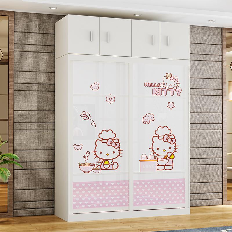 高长1.2米现代简约经济型实木衣柜11月12日最新优惠