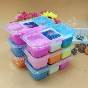 果酱起泡椒儿童玩具金粉起泡胶果酱泥滑滑泥拉面泥一盒三色成品彩