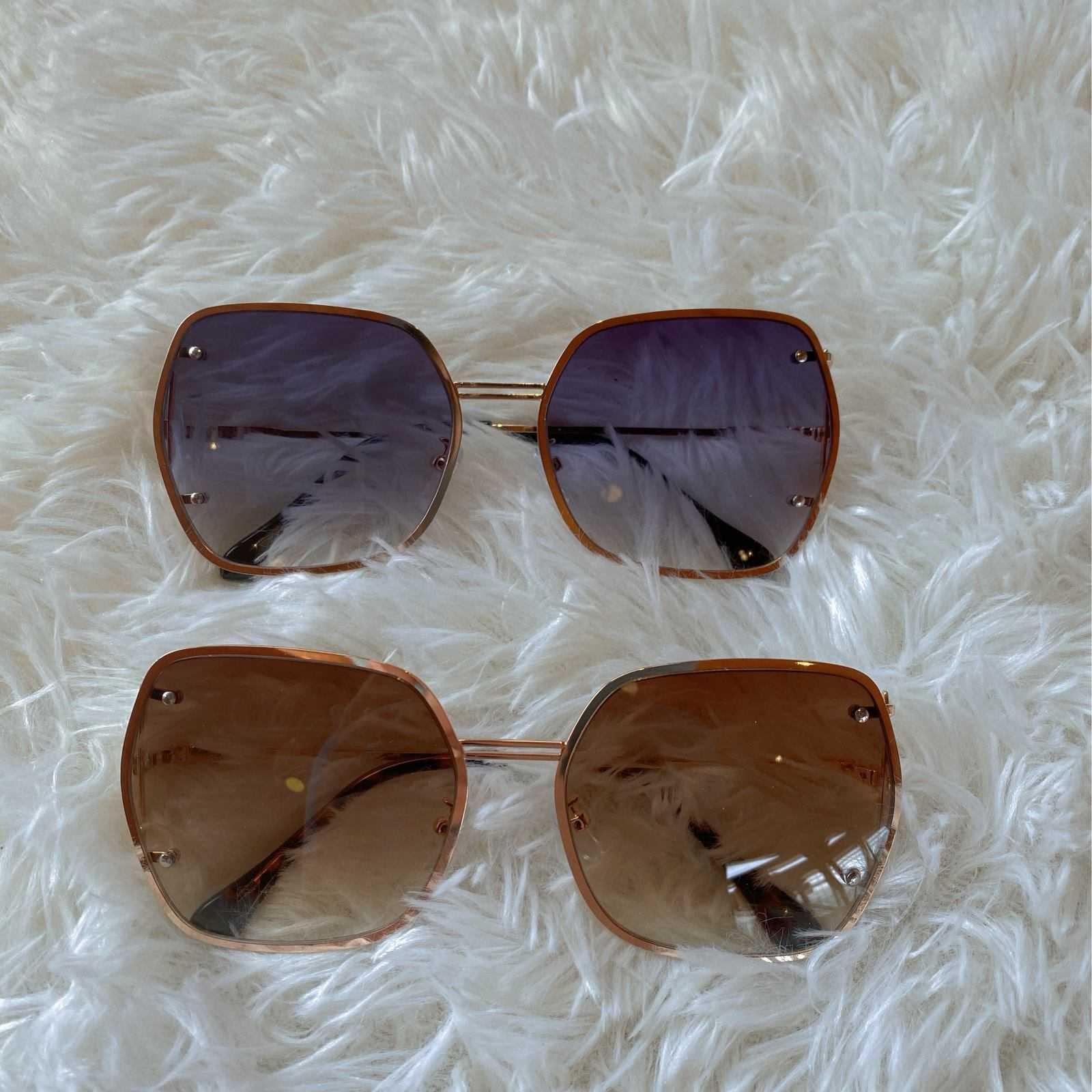 Im Kaka 1995 Sunglasses Women 2020 new temperament Sunglasses gray brown drivers glasses