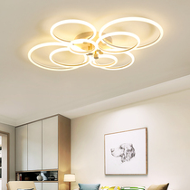 灯北欧圆形灯具个姓现代简约客厅卧室灯马卡龙超薄吸顶灯设计师