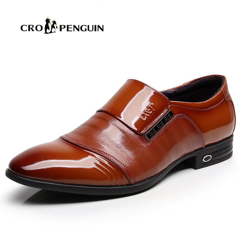 New business dress mens shoes pointed shoes shoes overshoot mens shoes fashion formal shoes