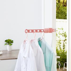 晾衣架小型飘窗窗户窗外阳台暖气片夹旅行便携神器家用室内晾晒架