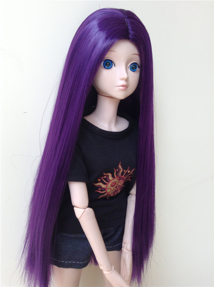 BJD SD baby wig with antique style
