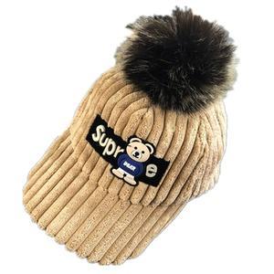 韩棉婴女款4帽子儿童男 男童 五岁鸭嘴帽小孩子宝宝