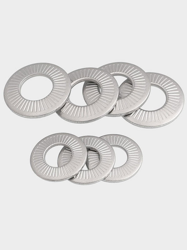 304 stainless steel butterfly / saddle single face flower tooth washer anti slip gasket m3m4m5m6m8m10m12m16m20
