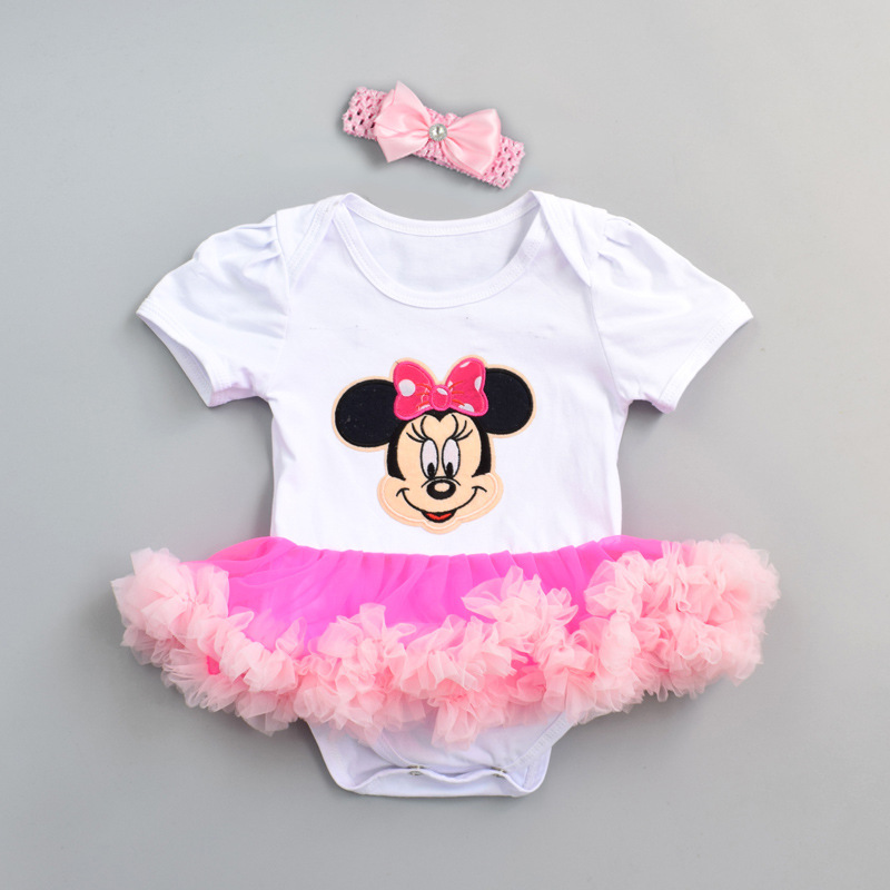 Ins popular childrens Jumpsuit baby clothing summer short sleeve baby Jumpsuit