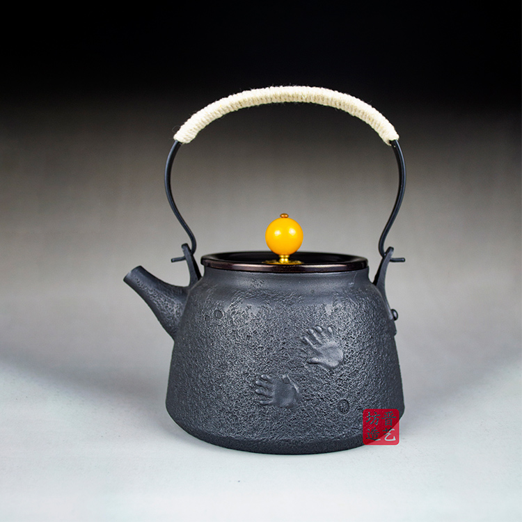 伝統的な手作業晋芸坊養生鉄壺山西晋城文化ギフト家庭用鋳鉄焼水泡茶無コーティング