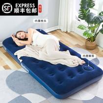 户外网红懒人充气沙发袋气垫床空气床垫午休躺椅免打气便携式单人