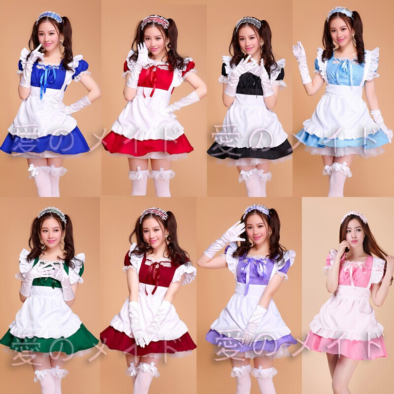 Super cute Cosplay Japanese anime role playing costume for women