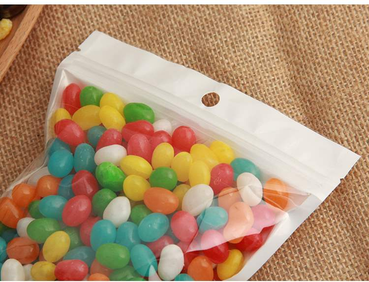 Electronic Yin and Yang packaging bag translucent pearl film self sealing bag data line product mobile phone shell accessories 12 silk