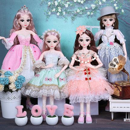 60厘米cm大号超大喜亚芭比换洋娃娃套装女孩玩具公主儿童单个仿真